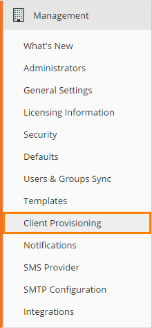 SnapComms App for Windows - Provisioning